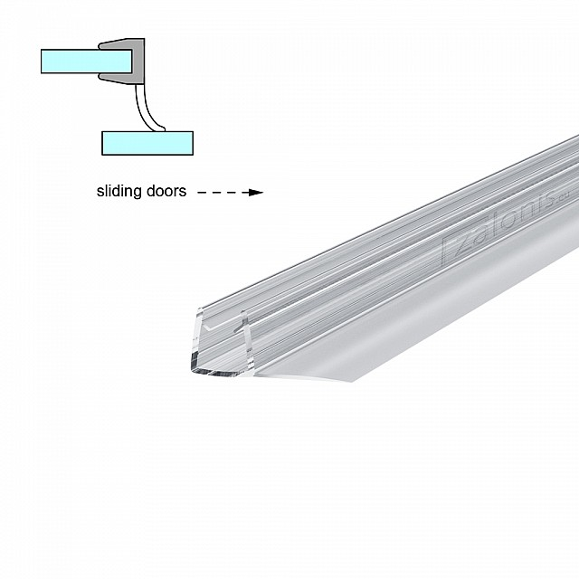 90 DEGREES FIN SHOWER SEAL FOR 6-8mm GLASS